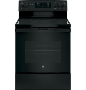 General Electric Appliances 29-7/8 in. 5-Burner Freestanding Electric Range GJB655DK