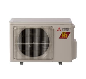 Mitsubishi Electronics USA M-Series Single-Zone Floor Mount Outdoor Mini-Split Heat Pump MMUFZKJNAHZU1
