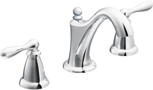 Moen Caldwell™ 1.2 gpm 3-Hole High Arc Bathroom Faucet with Double Lever Handle MWS84440