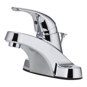 Pfister Pfirst Series™ 1.2 gpm 3-Hole Centerset Lavatory Faucet with Single Lever Handle PLG142800