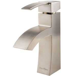 Pfister Bernini™ 1.2 gpm 1 or 3-Hole Centerset Lavatory Faucet with Single Lever Handle PLF042BN