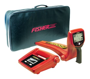 Fisher TW-82P Digital Depth Line Tracer with Soft Case in Black FTW82P at Pollardwater