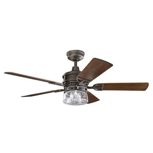 Kichler Lighting Lyndon® Patio 60 in. 5-Blade Ceiling Fan KK310139