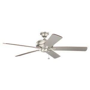 Kichler Lighting Terra 74W 5-Blade Ceiling Fan with 60 in. Blade Span KK330249