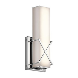 Kichler Lighting Trinsic LED Wall Sconce in Polished Chrome KK45656CHLED