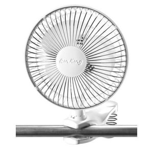 Air King America 6 in. 3-Blade Clip-On Table Portable Fan AIR9145