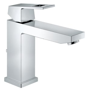 Grohe Eurocube Centerset Lavatory Faucet with Single Lever Handle in Starlight Polished Chrome G23670000