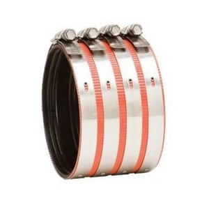 Anaco Stainless Steel Heavy Duty No-Hub Coupling DNHHC