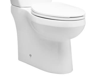 Mirabelle® Bradenton Elongated Toilet Bowl in White MIRBD240SWH