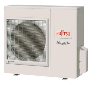 Fujitsu Halcyon™ Wall Mount Outdoor Mini-Split Heat Pump FAOURLXFWH