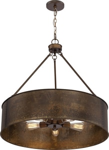Nuvo Lighting Kettle 60W Medium Pendant Light in Antique Copper N605895
