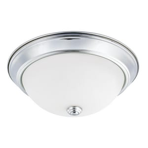 60W 2-Light Flushmount Ceiling Light C214722