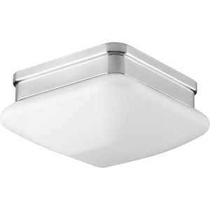 Progress Lighting Appeal 75W 1-Light Medium E-26 Base Incandescent Flushmount Ceiling Fixture PP3991