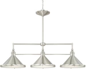 Capital Lighting Fixture Langley 3-Light Ceiling Mount Island Light C812231