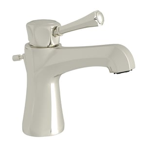Rohl Wellsford® 6-1/32 in. 1.2 gpm 1-Hole Lavatory Faucet with Single Lever Handle RWE2301LM2