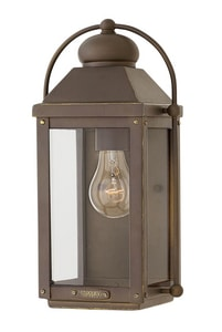 Hinkley Lighting Anchorage 13 in. 1-Light 100W Wall Lantern H1850