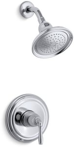 Kohler Devonshire® 2.5 gpm Shower Valve Trim with Single Lever Handle and Showerhead KTS396-4