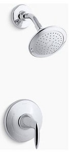 Kohler Alteo™ 2.5 gpm Shower Valve Trim with Single Lever Handle and Showerhead KTS45106-4