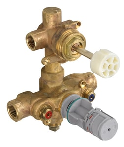 American Standard Thermostatic Valve with Built-In 2-Way Diverter for American Standard T555.740 Town Square Double-Handle Thermostat Trim Kit AR522S