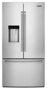 Jennair 23.8 cf cf Freestanding Counter Depth and French Door Refrigerator JJFFCC72EF