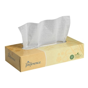 Georgia-Pacific Preference® 8-17/20 in. Facial Tissue in White (Case of 30) G48100