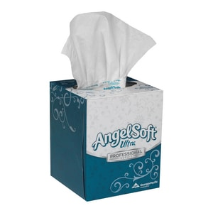Georgia-Pacific Angel Soft Professional Series™ 8-1/2 in. Premium Facial Tissue in White (Case of 36) G46560