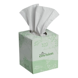 Georgia-Pacific Envision® 8-33/100 in. Facial Tissue in White (Case of 36) G47510