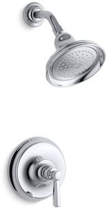 Kohler Bancroft® 2.5 gpm Pressure Balance Shower Valve Trim with Showerhead and Single Lever Handle KTS10583-4