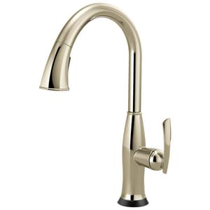 Brizo Coltello™ 1-Hole Pull-Down Kitchen Faucet with Spray and Single Lever Handle D64096LF