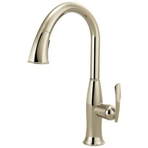 Brizo Coltello™ 1-Hole Pull-Down Kitchen Faucet with Single Lever Handle D63096LF