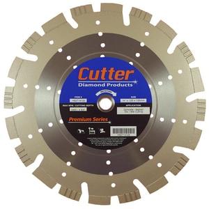 Cutter Diamond Products Premium 14 in. Concrete Cutter Blade CHS2T14125