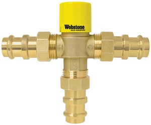 Webstone Company Pro-Connect™ 3/4 in. Thermostatic Mixing Valve with Check Outlet Temperature W78203WCAN