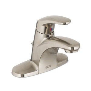 American Standard Colony® Pro 5-15/16 in. 1.2 gpm 1-Hole Centerset Lavatory Faucet with Single Lever Handle A7075002