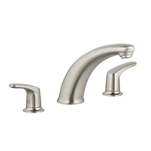 American Standard Colony® Pro Deckmount Tub Filler with Double Lever Handle AT075900
