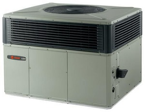 Trane 4YCY5 Series 15 SEER R-410A Two-Stage Spine Fin Convertible Natural Gas Packaged Gas/Electric Unit T4YCY5A1090A