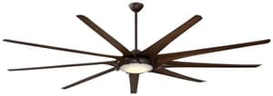 Minka-Aire Ninety-Nine 45.2W 9-Blade Ceiling Fan with 99 in. Blade Span and LED Light MF899L
