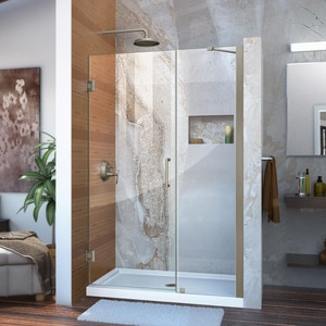 Dreamline® Unidoor 47 in. Frameless Hinged Shower Door with Tempered Glass DSHDR20467210