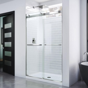 Dreamline® Essence 48 in. Frameless Bypass Shower Door with Clear Tempered Glass DSHDR6348760