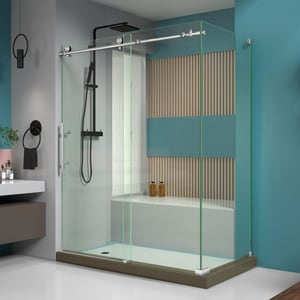 Dreamline® Enigma-X 60-3/8 in. Frameless Sliding Shower Enclosure with Clear Tempered Glass DSHEN6134600