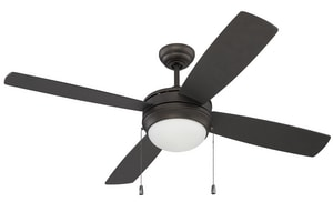 Craftmade International Laval 69.50W 4-Blade Ceiling Fan with 52 in. Blade Span CLAV524NRG