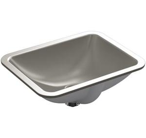 Kohler Caxton® 17-3/8 x 13 in. Undermount Lavatory Sink with Overflow K20000