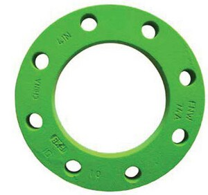 FNW IPS 150# Ductile Iron Back-Up Flange FNW74A
