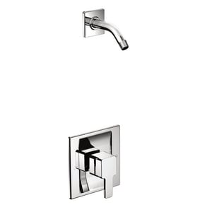 Moen 90 Degree™ 2.5 gpm 80 psi Tub and Shower Only with Single Lever Handle in Polished Chrome MTS3715NH