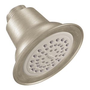 Moen 3-3/8 in. 1.75 gpm Single Function Showerhead MCL6303EP