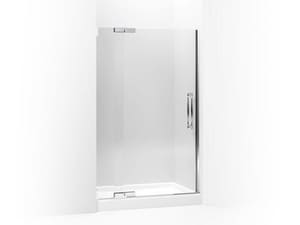Kohler Finial® 72-1/4 x 47-3/4 in. Heavy Glass Pivot Shower Door with 3/8 in. Crystal Clear Glass KOH705728-L