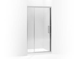Kohler Lattis® 76 x 42 in. Pivot Shower Door with Crystal Clear Tempered Glass KOH705820-L