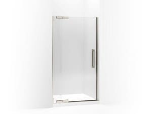 Kohler Purist® 72-1/4 x 41-3/4 in. Heavy Glass Pivot Shower Door with 3/8 in. Crystal Clear Glass KOH705703-L