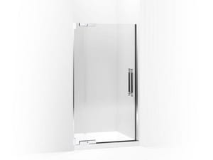 Kohler Pinstripe® 72-1/4 x 41-3/4 in. Heavy Glass Pivot Shower Door with 3/8 in. Crystal Clear Glass KOH705709-L