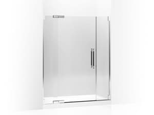 Kohler Pinstripe® 59-3/4 in. Pivot Shower Door with Crystal Clear Tempered Glass KOH705711-L