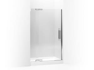 Kohler Pinstripe® 72-1/4 x 47-3/4 in. Heavy Glass Pivot Shower Door with 1/2 in. Crystal Clear Glass KOH705722-L